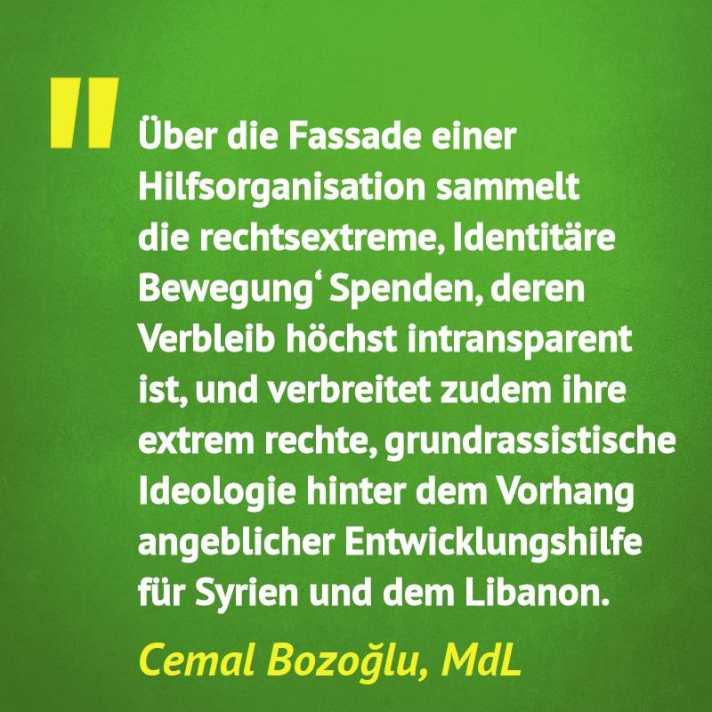 Read more about the article PM: Angeblich humanitärer Verein sammelt Spenden für Rechtsextreme